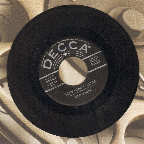 Kallen, Kitty - Long Lonely Nights/Lasting Love  - VG7/ - 45 rpm Records