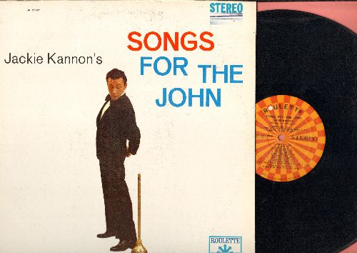 Kannon, Jackie - Songs For The John: Dear John (Parts 1 + 2), Lolita, The Seat May Still Be Up, Sable Coat, Oh Give Me A Home (Vinyl STEREO LP record) - NM9/NM9 - LP Records