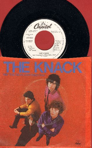 Knack - Pay The Devil (Ooo Baby Ooo) (double-A-sided DJ advance pressing with picture sleeve) - M10/EX8 - 45 rpm Records