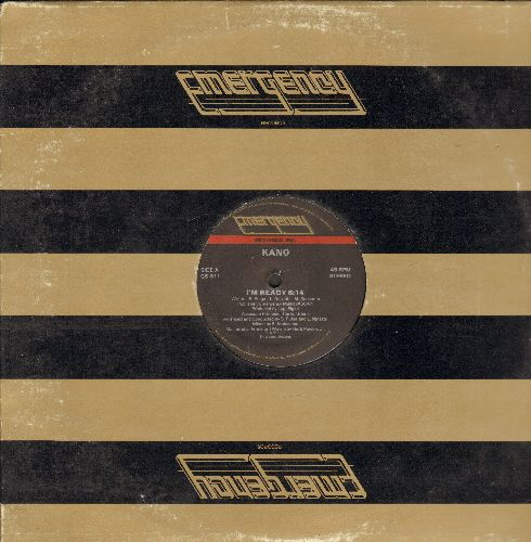 Kano - I'm Ready (6:14 minutes Extended Disco Version, Prominently featured on TV's -General Hospital- during Summer of 1981)/Holly Dolly (6:26 minutes Extended Disco Version) (RARE 1986 REMASTERED 12 inch Maxi Single) - EX8/ - Maxi Singles