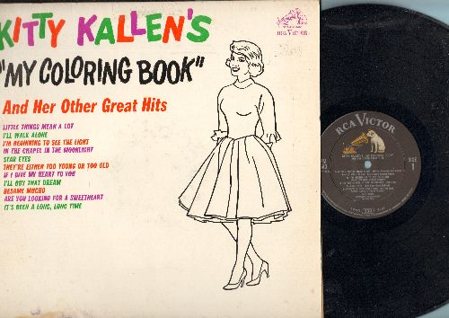 Kallen, Kitty - My Coloring Book: Little Things Mean A Lot, Besame Mucho, I'll Buy That Dream, If I Give My Heart To You (vinyl MONO LP record) - NM9/VG6 - LP Records
