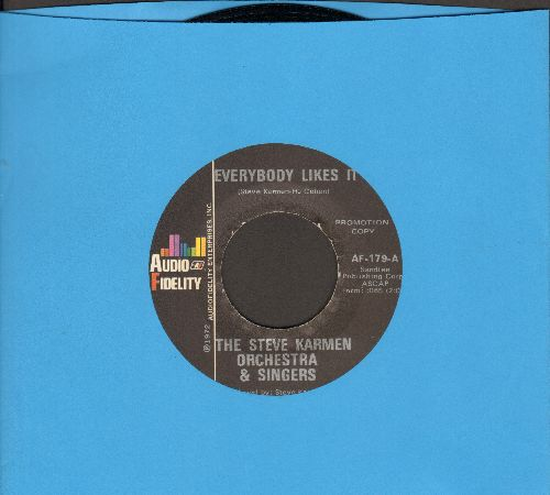 Karmen, Steve Orchestra & Singers - Everybody Likes It/Everybody Likes It (The Easy Way) - NM9/ - 45 rpm Records