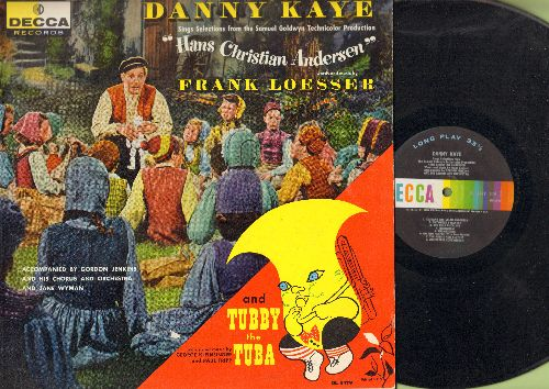 Kaye, Danny - Hans Christian Andersen - Songs from the Motion Picture Sound Track, words and music by Frank Losser (Vinyl LP record, Decca label FIRST pressing!) - VG7/VG7 - LP Records
