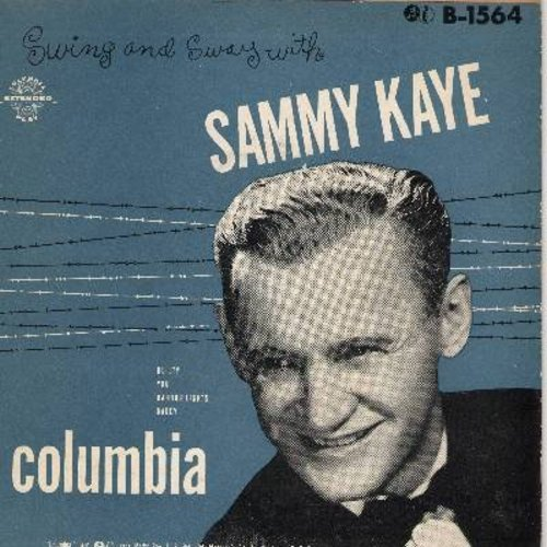 Kaye, Sammy - Daddy/Guilty/Harbor Lights/You (Vinyl EP record with picture cover) - NM9/EX8 - 45 rpm Records