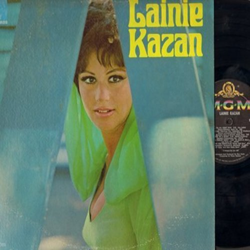 Kazan, Lainie - Lainie Kazan: The Trolley Song, Peel Me A Grape, Summertime, Show Me, What Now My Love (Vinyl MONO LP record) - NM9/EX8 - LP Records
