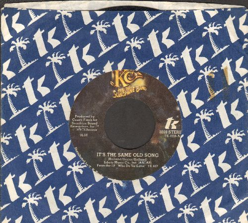 K.C. & The Sunshine Band - It's The Same Old Song/Let's Go Party (with company sleeve) - EX8/ - 45 rpm Records