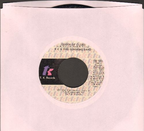 K.C. & The Sunshine Band - Queen Of Clubs/Do It Good - M10/ - 45 rpm Records