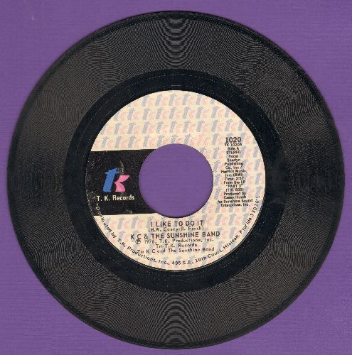 K.C. & The Sunshine Band - I Like To Do It/Come On In - NM9/ - 45 rpm Records