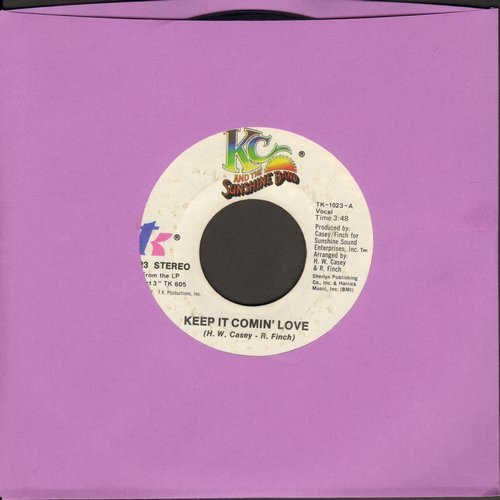 K.C. & The Sunshine Band - Keep It Comin' Love/Baby I Love You - VG6/ - 45 rpm Records
