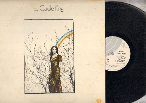 King, Carole - Writer: Up On The Roof, Child Of Mine, Spaceship Races, Eventually (viyl STEREO LP record) - EX8/EX8 - LP Records