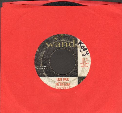 Kingsmen - Louie Louie (FRAT PARTY FAVORITE!)/Haunted Castle (wol) - VG7/ - 45 rpm Records