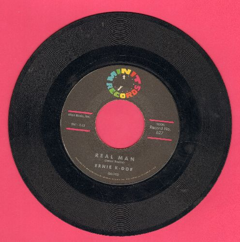 K-Doe, Ernie - Real Man/Te-Ta-Te-Ta-Ta - VG7/ - 45 rpm Records