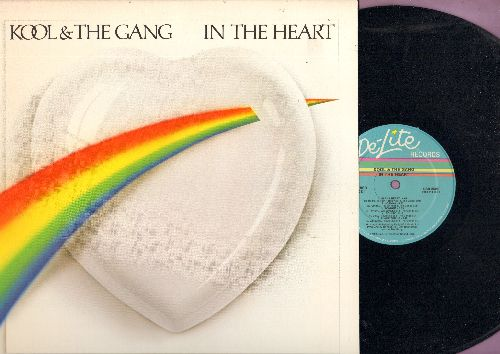 Kool & The Gang - In The Heart: Joanna, Tonight, September Love, Place For Us (Vinyl STEREO LP record) - NM9/NM9 - LP Records