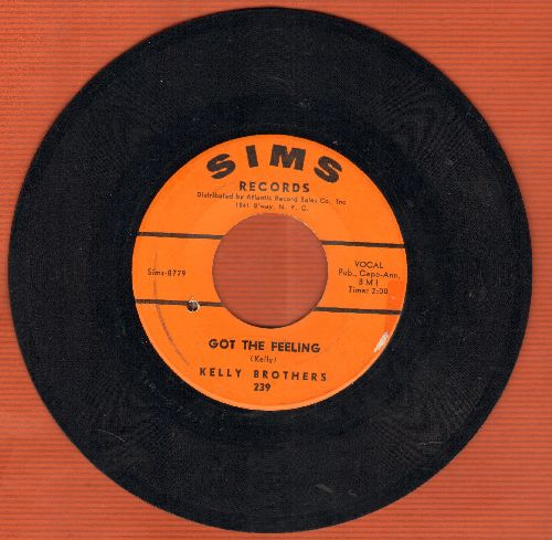 Kelly Brothers - Got The Feeling/You're The Most (bb) - EX8/ - 45 rpm Records