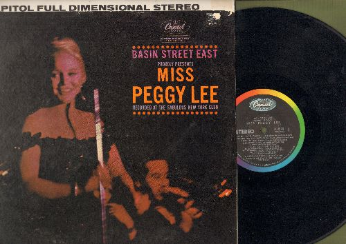 Lee, Peggy - Basin Street East: Fever, The Second Time Around, I Got A Man (Live Recording!, vinyl STEREO LP record) - NM9/EX8 - LP Records