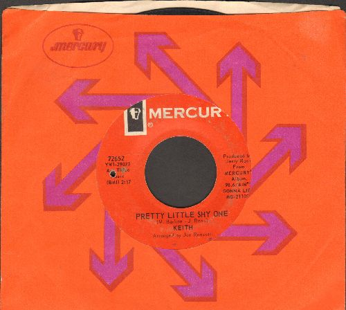 Keith - Pretty Little Shy One/Tell Me To My Face (with Mercury company sleeve) (bb) - EX8/ - 45 rpm Records