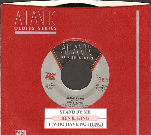 King, Ben E. - Stand By Me/I (Who Have Nothing) (double-hit re-issue with juke box label and company sleeve) - NM9/ - 45 rpm Records