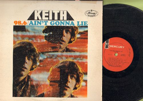 Keith - 98.6/Ain't Gonna Lie: To Whom It Concerns, Tell Me To My face, The Teeny Bopper Song, I Can't Go Wrong (vinyl STEREO LP record) - VG7/VG7 - LP Records