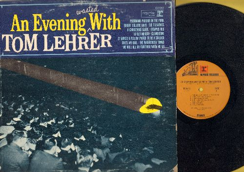 Lehrer, Tom - An Evening Wasted With Tom Lehrer: Poisoning Pidgeons In The Park, Oedipus Rex, She's My Girl, The Masochism Tango (Vinyl STEREO LP record) - NM9/VG7 - LP Records