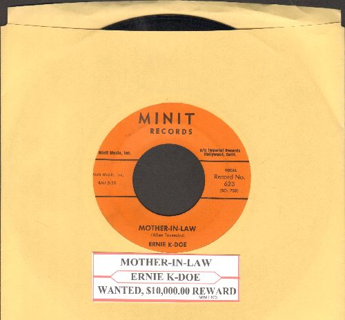 K-Doe, Ernie - Mother-In-Law/Wanted $10,000 Reward (with juke box label) - NM9/ - 45 rpm Records