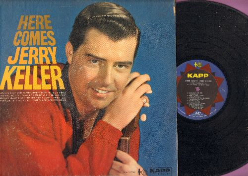 Keller, Jerry - Here Comes Jerry Keller: Unchained Melody, If I Had A Girl, Young Love, 16 Going on 17, True Love (Vinyl MONO LP record) - NM9/EX8 - LP Records