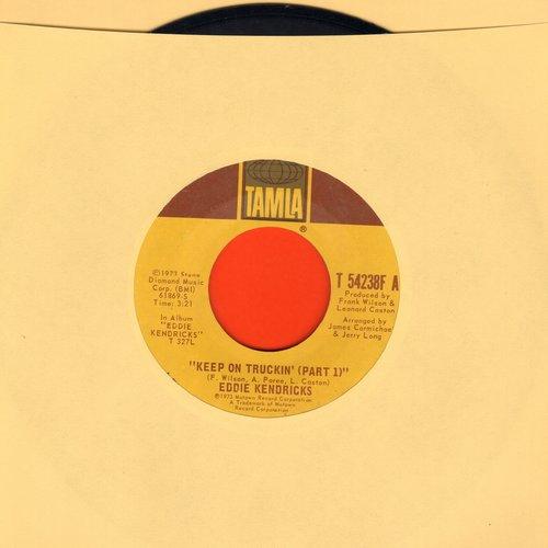 Kendricks, Eddie - Keep On Truckin' (Parts 1 + 2) - VG7/ - 45 rpm Records