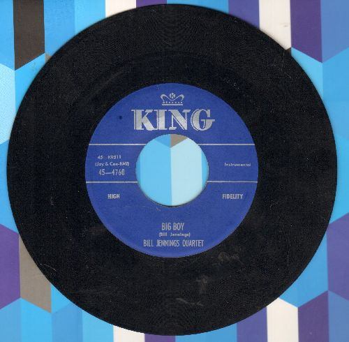 Jebbings, Bill Quartet - Big Boy/Danny Boy - EX8/ - 45 rpm Records