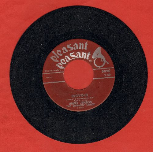 Jenson, Jimmy (The Swingin' Swede) - Ingvold (RARE parody of Jimmy Dean hit Big John)/Ace In The Hole - NM9/ - 45 rpm Records