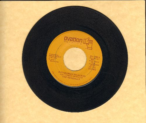 Kendalls - Pittsburgh Stealers/When Can We Do This Again - VG7/ - 45 rpm Records