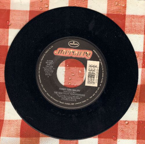 Kentucky Headhunters - Honky Tonk Walkin'/Redneck Girl - NM9/ - 45 rpm Records