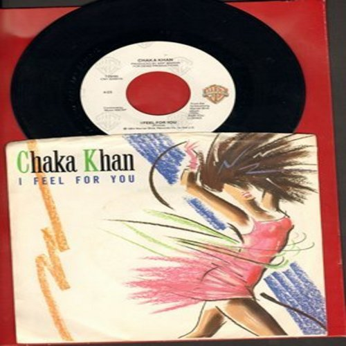 Khan, Chaka - I Feel For You/Chinatown (with picture sleeve) - NM9/EX8 - 45 rpm Records
