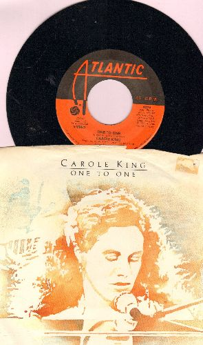 King, Carole - One To One/Goat Annie (with picture sleeve) - NM9/EX8 - 45 rpm Records