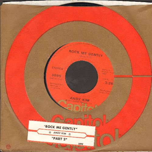 Kim, Andy - Rock Me Gently/Rock Me Gently (Part II) - EX8/ - 45 rpm Records