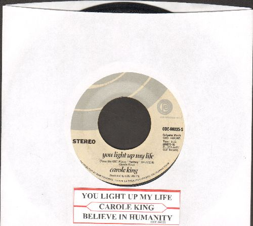 King, Carole - You Light Up My Life/Believe In Humanity (with juke box label) - EX8/ - 45 rpm Records