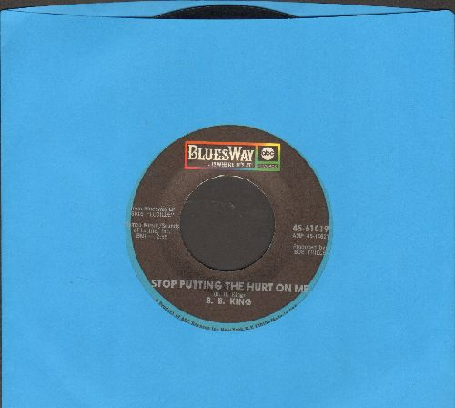 King, B. B. - Stop Putting The Hurt On Me/The B. B. King - NM9/ - 45 rpm Records