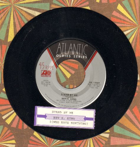 King, Ben E. - Stand By Me/I (Who Have Nothing) (double-hit re-issue with juke box label) - NM9/ - 45 rpm Records