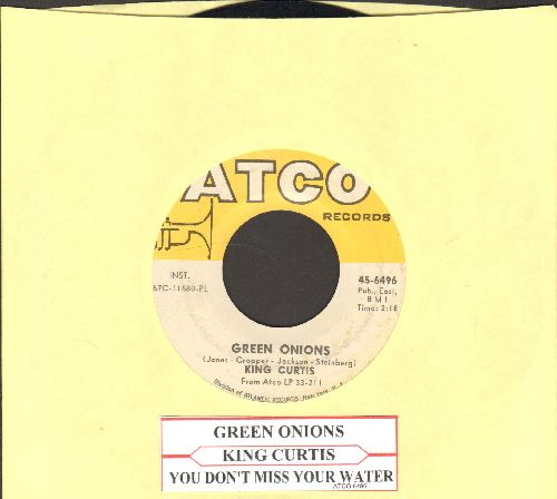 Curtis, King - Heavenly Blues/Restless Guitar  - EX8/ - 45 rpm Records