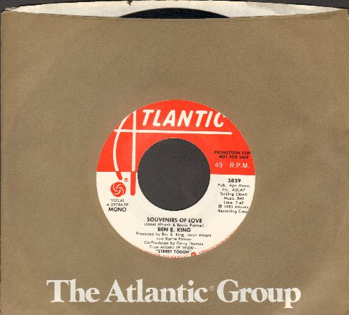 King, Ben E. - Souvenirs Of Love (double-A-sided DJ advance pressing with Atlantic company sleeve) - M10/ - 45 rpm Records