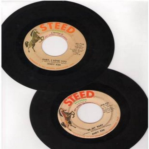 Kim, Andy - 2 for 1 Special: Baby, I Love You/Be My Baby (2 vintage first issue 45rpm records for the price of 1!) - EX8/ - 45 rpm Records