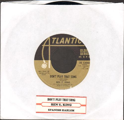 King, Ben E. - Don't Play That Song (You Lied)/Spanish Harlem (double-hit re-issue with juke box label) - NM9/ - 45 rpm Records