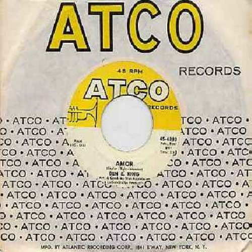 King, Ben E. - Amor/Souvenir of Mexico (with Atco company sleeve) - NM9/ - 45 rpm Records