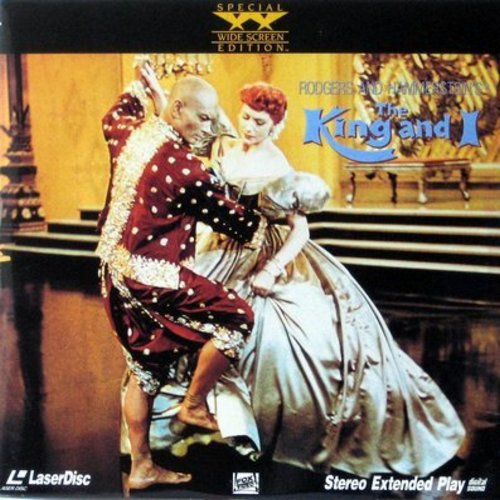 The King And I - The King And I - Widescreen Edition of the 1956 Rogers and Hammerstein Musical starring Yul Brynner and Deborah Kerr  (This is a set of 2 LASERDISCS, NOT ANY OTHER KIND OF MEDIA!) - NM9/EX8 - LaserDiscs