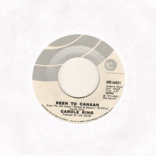 King, Carole - Been To Canaan/Bitter With The Sweet - NM9/ - 45 rpm Records