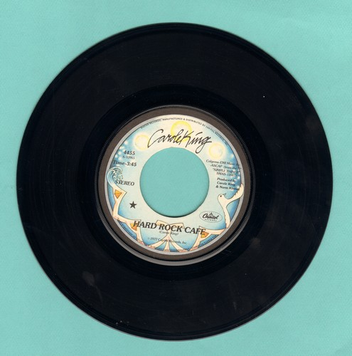 King, Carole - Hard Rock Café/To Know That I Love You - NM9/ - 45 rpm Records