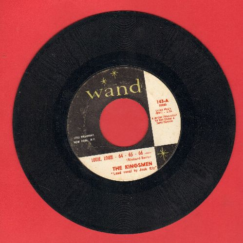 Kingsmen - Louie Louie - 64 - 64 - 66 ---  (FRAT PARTY FAVORITE!)/Haunted Castle - VG7/ - 45 rpm Records