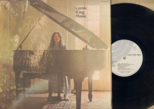 King, Carole - Carole King Music: Sweet Seasons, Brother Brother, Back To California, Too Much Rain (vinyl STEREO LP record, gate-fold cover) (woc) - NM9/EX8 - LP Records