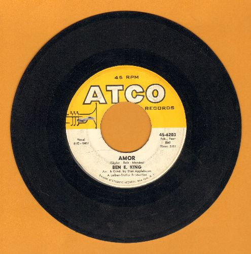 King, Ben E. - Amor/Souvenir of Mexico (with Atco company sleeve) - VG7/ - 45 rpm Records