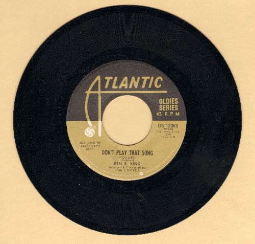 King, Ben E. - Don't Play That Song (You Lied)/Spanish Harlem (double-hit re-issue) - VG7/ - 45 rpm Records
