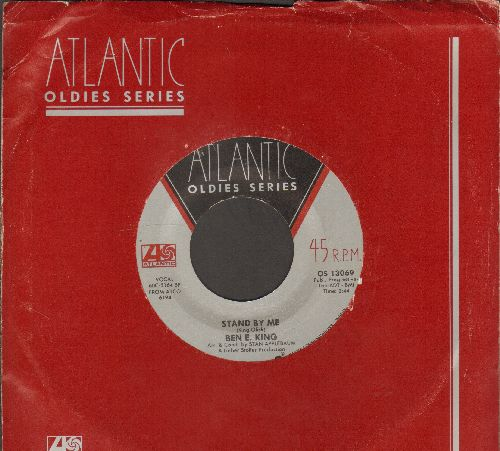 King, Ben E. - Stand By Me/I (Who Have Nothing) (double-hit re-issue with Atlantic company sleeve) - VG7/ - 45 rpm Records