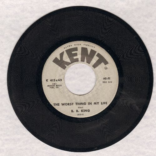 King, B. B. - The Worst Thing In My Life/Got Em Bad - EX8/ - 45 rpm Records